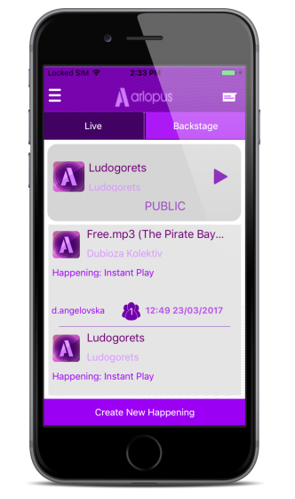 ARLOPUS – Synchronize Music with Friends, Get Together and Have Fun